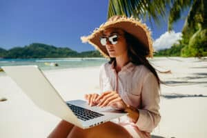 become digital nomad and work from anywhere